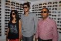 Neeku Naaku Team at Optorium EyeWear Store Hyderabad