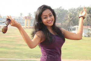 Kandanam Movie Heroine Prithiksha Mythili Hot Stills