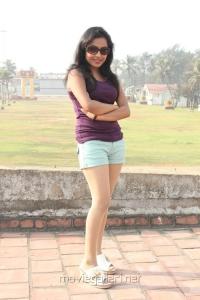 Kandanam Movie Heroine Prithiksha Mythili Hot Pics