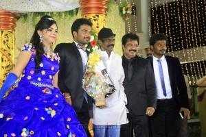 Goundamani @ Pandiarajan Son Prithvi Rajan Akshaya Premnath Wedding Reception Stills