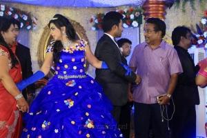 Rajesh @ Pandiarajan Son Prithvi Rajan Akshaya Premnath Wedding Reception Stills