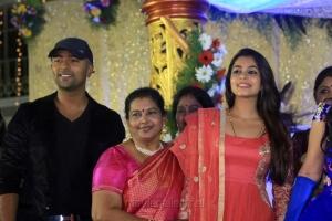 Shanthanu, Keerthi @ Pandiarajan Son Prithvi Rajan Akshaya Premnath Wedding Reception Stills