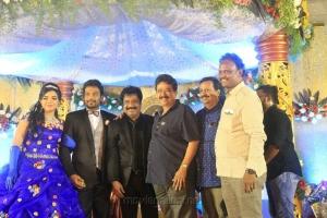 SV Sekar @ Pandiarajan Son Prithvi Rajan Akshaya Premnath Wedding Reception Stills