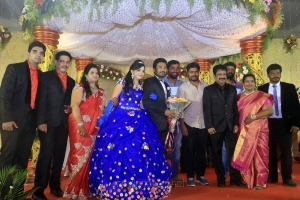Pa Ranjith @ Pandiarajan Son Prithvi Rajan Akshaya Premnath Wedding Reception Stills