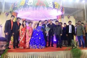 Vijay @ Pandiarajan Son Prithvi Rajan Akshaya Premnath Wedding Reception Stills