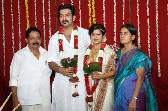 Picture 8206 | Prithviraj Supriya Menon Wedding Images ...