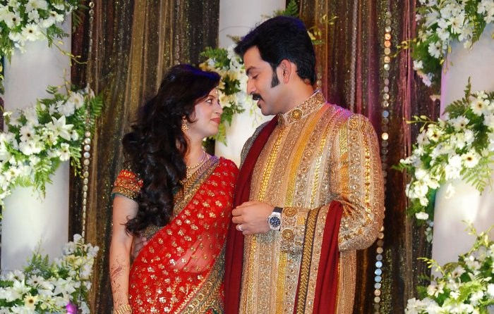 Picture 9121 | Prithviraj Supriya Menon Wedding Reception ...