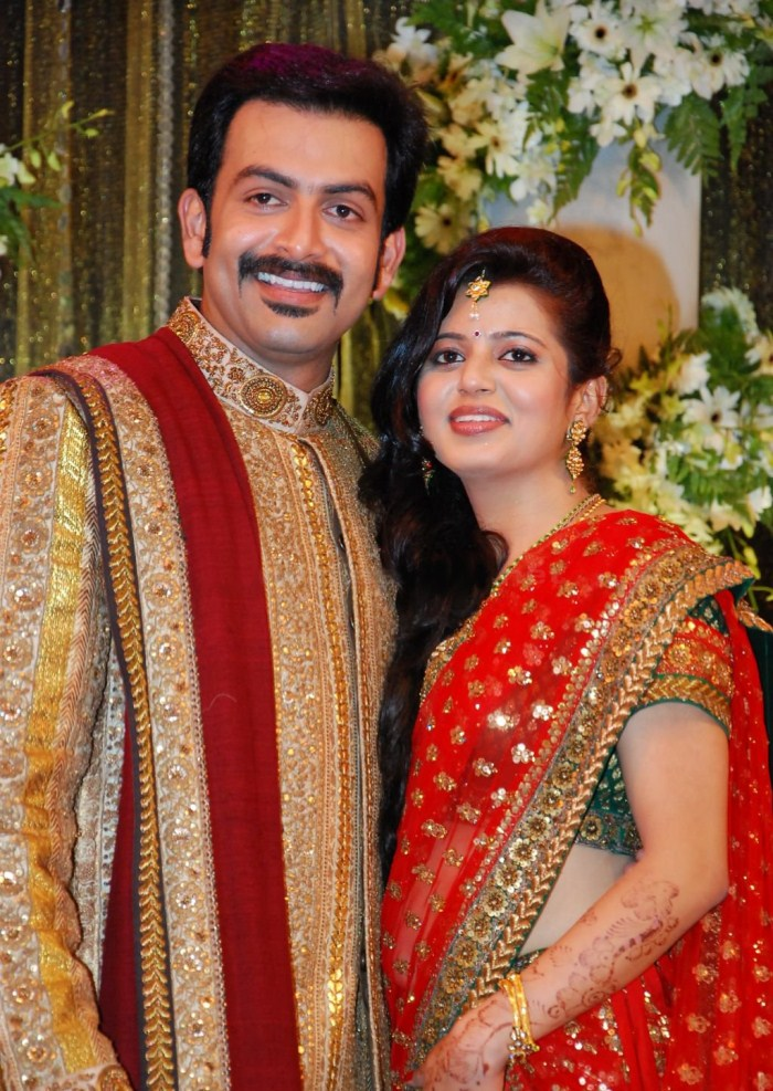 Picture 9122 | Prithviraj Supriya Menon Wedding Reception ...