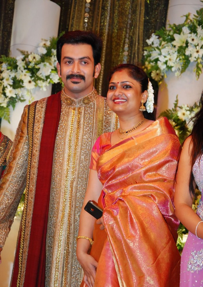 Picture 9131 | Prithviraj Supriya Menon Wedding Reception ...
