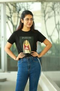 Check Movie Actress Priya Prakash Varrier Interview Pictures