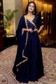 Ishq Actress Priya Prakash Varrier in Blue Dress Images