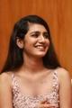 Actress Priya Prakash Varrier Pics @ Oru Adaar Love Audio Launch