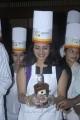 Actress Priya Raman at GRT cake mixing event stills