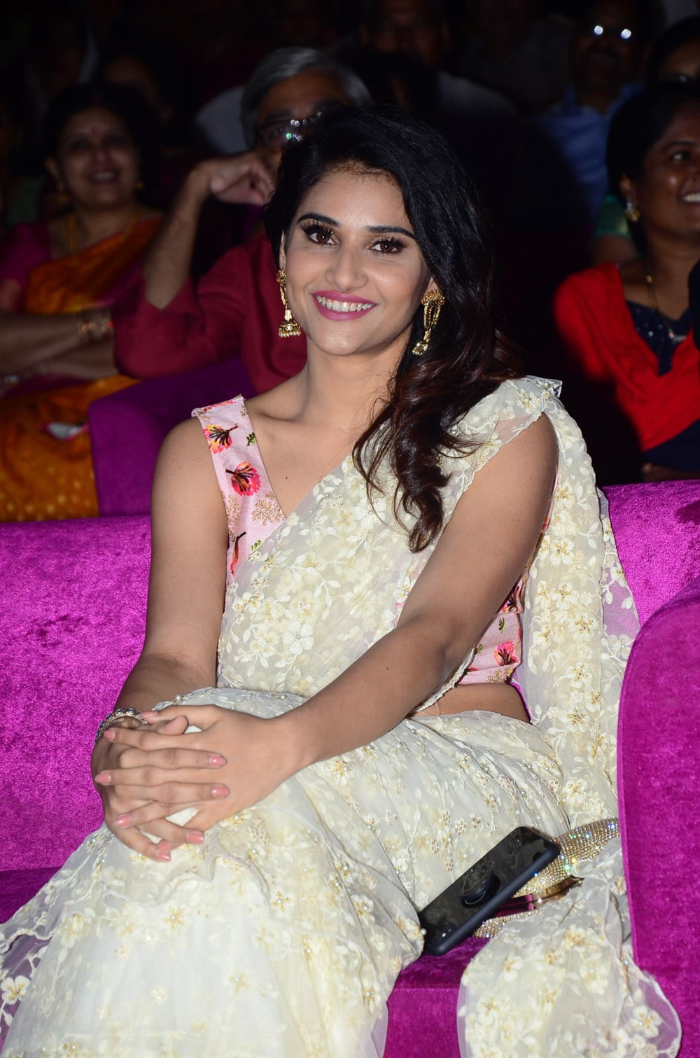 Actress Priya Singh Saree Pictures @ Rangu Pre Release Function