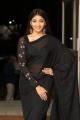 Husharu Actress Priya Vadlamani in Black Saree Photos