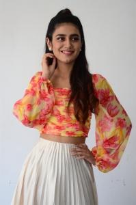 ISHQ (Not A Love Story) Heroine Priya Prakash Varrier Interview Pictures