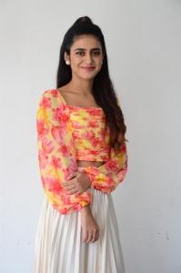 ISHQ Heroine Priya Varrier Interview Pictures