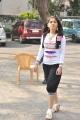 Tamil Actress Priyadarshini Stills at Pudhu Varusham Shooting Spot