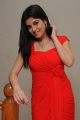Beautiful Priyadarshini in Long Red Party Dress