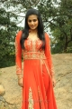 Actress Priyamani Cute Images in Dark Orange Anarkali Dress