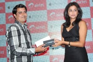 Actress Priyamani at Airtel iPhone 5 Launch Stills