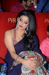 Actress Priyamani New Saree Photos @ Sirivennela Audio Launch