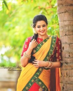 Actress Priyamani Saree Photoshoot Stills