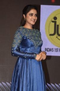 Varun Doctor Actress Priyanka Arul Mohan Blue Dress Photos
