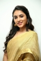Actress Priyanka Mohan Cute Saree Images @ Gang Leader Movie Press Meet
