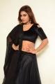 Mass Power Actress Priyanka Augustin New Stills in Black Dress
