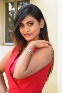 Actress Priyanka Augustin Pictures @ Super Power Trailer Launch