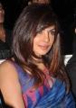 Priyanka Chopra Hot Images in Dark Moderate Blue Saree