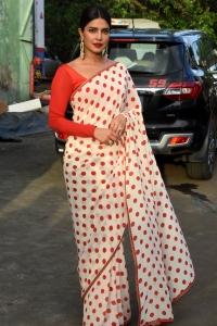Hindi Actress Priyanka Chopra Latest Saree Photos