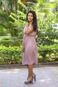 Actress Priyanka Jain Stills @ Chalthe Chalthe Teaser Launch