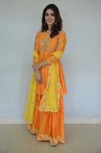 Actress Priyanka Jawalkar Pics @ Gamanam Movie Press Meet