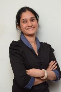 Actress Priyanka Pallavi Photos in Black Dress