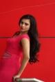 Priyanka Ramana Hot in Red Short Dress Images