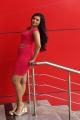 Actress Priyanka Ramana Hot Images in Red Short Dress