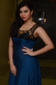Tamil Actress Priyanka Ramana Stills in Blue Long Dress