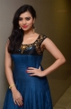 Actress Priyanka Ramana in Blue Long Gown Stills