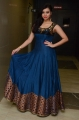 Actress Priyanka Ramana in Blue Long Dress Stills