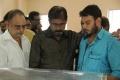 V Sekar, RK Selvamani @ Ibrahim Rowther Passes Away Photos