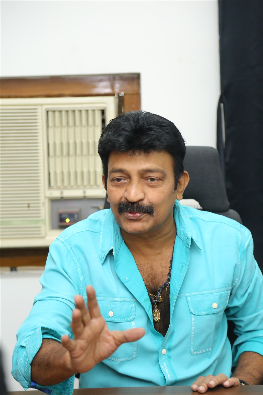 PSV Garuda Vega Hero Rajasekhar Interview Photos
