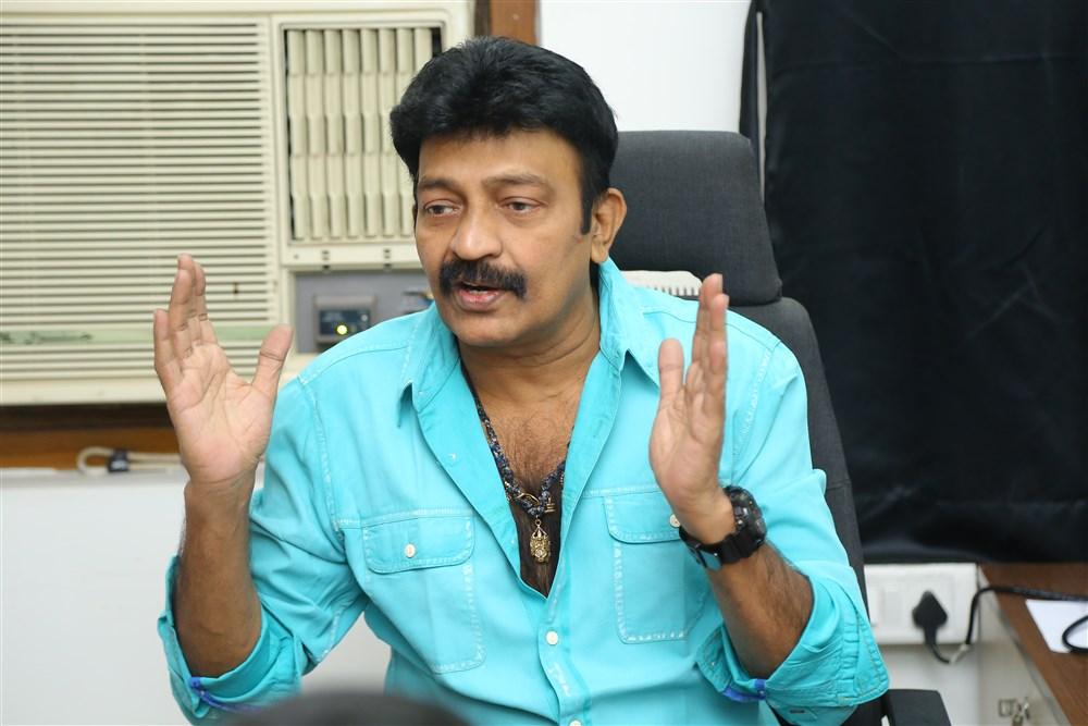 PSV Garuda Vega Actor Rajasekhar Interview Photos
