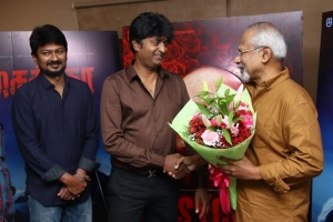 Arun Mozhi Manickam, Mani Ratnam @ Psycho Movie Teaser Launch Stills
