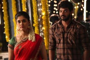 Surabhi, Jai in Pugazh Movie New Images