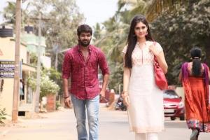 Jai, Surabhi in Pugazh Movie New Images