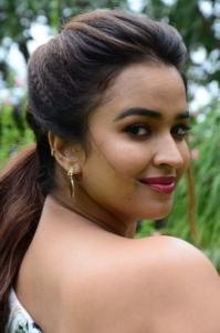 Actress Pujita Ponnada Images @ Aakasa Veedhullo Movie Trailer Launch