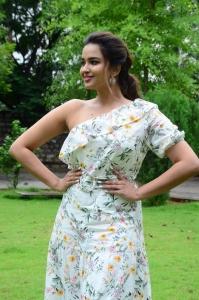 Actress Poojitha Ponnada Images @ Aakasa Veedhullo Trailer Launch
