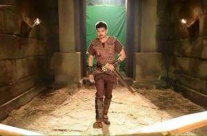 Actor Vijay in Puli Movie Latest Pics